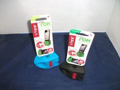 Geluidsversterker iPhone, geen batterijen gewoon een rubberen standaard waar je de iPhone inzet!
