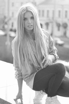 such long hair, love it!