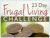 23 Day Frugal Living Challenge