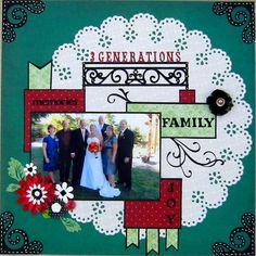 3 Generations - Scrapbook.com
