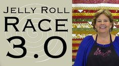 http://missouriquiltco.com – Jenny Doan shows us how to make The Jelly Roll Race 3.0 using jelly rolls (2 1/2 inch strips of pre cut fabric). To watch the or...