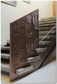Inspiration for Mix and Match Traditional Wall with Modern Interior - The Urban Interior Interior Staircase, Staircase Railings, Stairways, Banisters, Cl Design, Door Design, House Design, Modern Railing, Modern Stairs