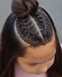 28 Amazing Braids Models and Hairstyles for Girls We chose amazing braids and hairstyles for your girl. Your daughter will be very happy when you apply one or more of. Cute Hairstyles For Teens, Cool Braid Hairstyles, Baddie Hairstyles, Teen Hairstyles, Pretty Hairstyles, Summer Hairstyles, Baby Hair Cut Style, Curly Hair Styles, Natural Hair Styles