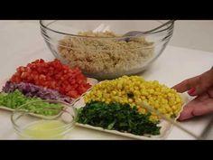 Grains, Rice, Vegan, Youtube, Food, Vegetarian, Grain Salad, Salads, Healthy Recipes
