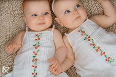 Cute Twins | This was the cutest moment ever. As I started to take this picture ...