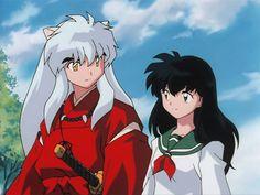 Anime Screencap and Image For Inuyasha Inuyasha Fan Art, Kagome And Inuyasha, Kagome Higurashi, Manga Art, Anime Manga, Inuyasha Cosplay, Ghost In The Shell, Anime Screenshots, Gifs