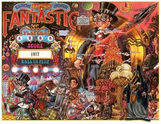 – Elton John Captain Fantastic Bally Pinball