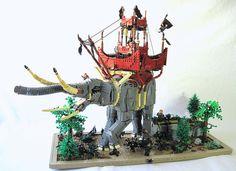 The Oliphaunt | Built by Elliot Feldman for the Middle Earth #LEGO Olympics on…