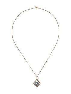 Two-Tone Diamond Necklace