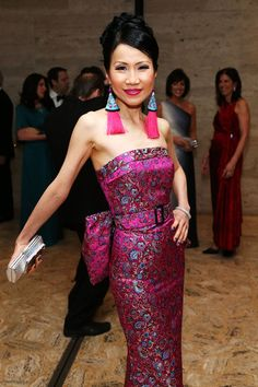 Chiu-Ti Jansen attending the School of American Ballet 2013 Winter Ball at David H. Koch Theater, Lincoln Center on March 11, 2013 in New York City.