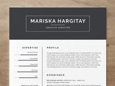 find this pin and more on free cvresume templates - Free Resume Design