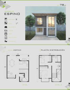 Planos de casas economicas casa cubo 72m2 6x6 qubichouse for Casa moderna 6x6