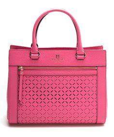 Another great find on #zulily! Pink Two Way Leather Tote #zulilyfinds