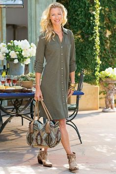 We think the name says it all! Our Effortless Knit Dress will be one of your favorite items right into late fall.