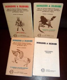 The set of simple books that started the genre. I never owned this set, but the following editions I did.