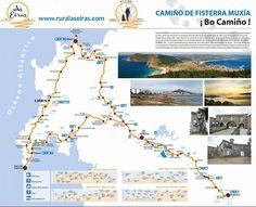 Route: Santiago de Compostela -> Fisterra -> Muxía