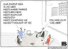 "When every innovation claims to be disruptive, disruptive loses its meaning. This is particularly the case in startups, where the word ""disruption"" is almost a business pitch requirement nowadays. Multi Level Marketing, Content Marketing, Digital Marketing, Inbound Marketing, New Business Ideas, Start Up Business, Business Cartoons, Disruptive Innovation, Instagram Blog"