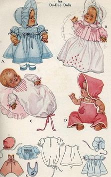 pattern for doll clothing