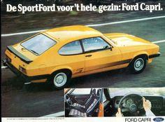 Ford Capri advert