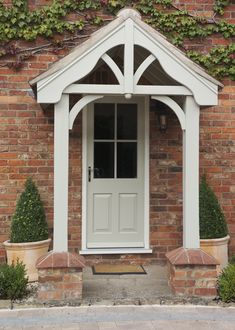 Traditional Wooden Front Doors - hardwood, softwood or oak