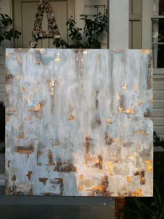 Large Abstract Commissioned Painting by S.Bynum Art by sbynumart, $1150.00