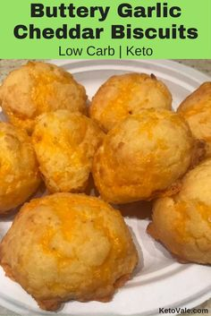 Buttery Garlic Cheddar Biscuits