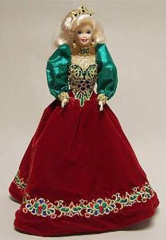 holiday jewel barbie