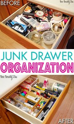 Great tips on how to organize your junk drawer! by reva