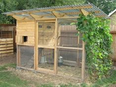 I like this idea for a chicken coop