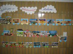 Vrátili jsme se prázdninovým vlakem Crafts For Kids, September, Classroom, Scrapbook, Education, School, Decor, Mirrors, Crafts For Children