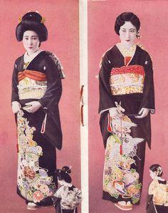 "Page from a vintage Booklet ""Wedding Ceremony Should Know"" - Showa 7 (1932) 婚礼儀式の知るべ 昭和七 Konrei Gishiki no Shirube. Scans via Naomi no Kimo..."