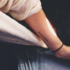 Have faith. #tattoo #Tattoologist #tattoologistofficial