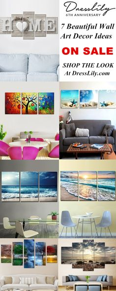 9964aab7ab1 7+ Beautiful Wall Art Decor Ideas.Choose them to decorate your sweet home.   dresslily  wallart