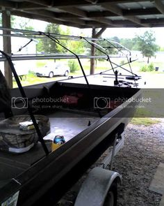 MudmotorTalk.com - View topic - Poker1 Duck Hunting Blinds, Duck Boat Blind, Boat Blinds, Boat Projects, Boat Building, Outdoor Decor, Home Decor, Image, Ideas