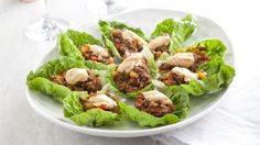 Swedish meatballs, without the need to visit a homewares shop, and a tasty starter of spiced mince in lettuce cups