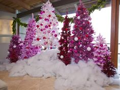 Pretty in Pink - Artificial Christmas Trees Better Than the Real Thing on HGTV