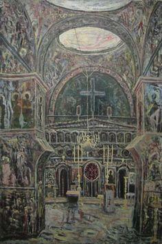 Artindex » Horia BERNEA la Muzeul de Arta Constanta Taj Mahal, Symbols, Culture, Fine Art, Fonts, Paintings, France, Artists, Decor