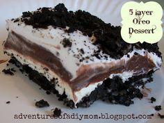 5 Layer Oreo Dessert