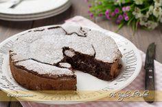 Torta al cioccolato fondente cremosa, ricetta