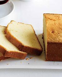 Jacques Pepin Pound Cake recipe from Food & Wine.