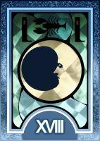 Persona 3/4 Tarot Card Deck HR - The Moon Arcana by Enetirnel