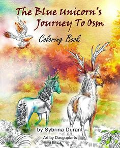 The Blue Unicorn's Journey To Osm Coloring Book - AUTHORSdb: Author Database, Books and Top Charts