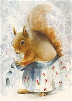 419 Best Squirrel Art images  8847f66f59