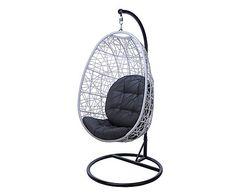 Hängestuhl Lina Mit Gestell U0026 2 Kissen, H 185 Cm, Chair: H 120