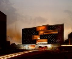 National Music Center / SPF Architects | ArchDaily