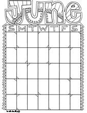 I just printed these super cute monthly calendar pages for our next school year. Andrew, Lily and I will have fun coloring these doodle calendars!