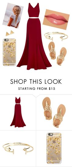 """""""629"""" by rita11541 ❤ liked on Polyvore featuring Fame & Partners, Ancient Greek Sandals, Aéropostale, Casetify, memento and Mudd"""