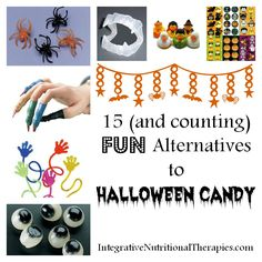 15 (and counting) Fun Alternatives to Halloween Candy - Melissa Malinowski, ND Naturopath Practitioner