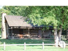 Davy crockett reconstructed home TN