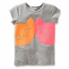 Two Kitties Tee